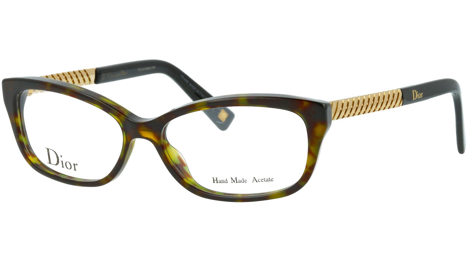 DIOR CD3258 ANT 52 HAVANA Glasses
