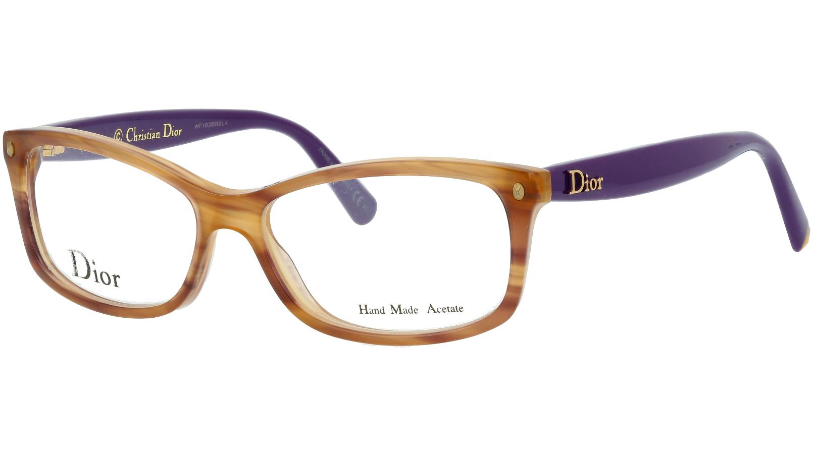 DIOR CD3232 PW5 52 HAVANA Glasses