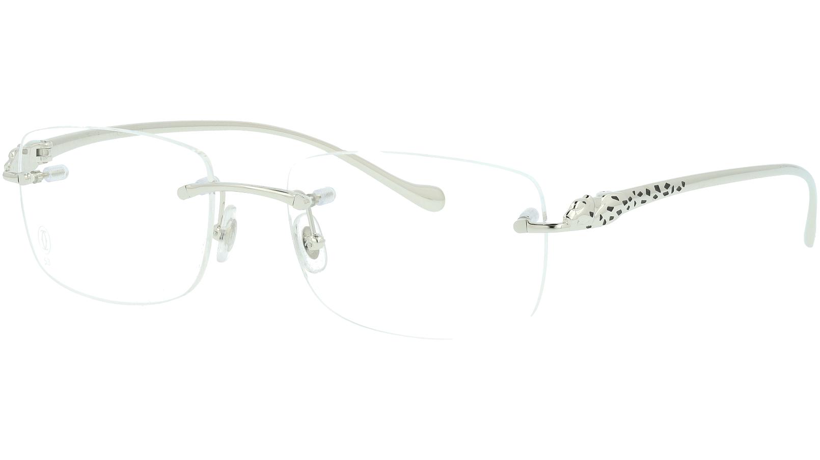 Cartier CT0063O 001 53 SILVER Glasses