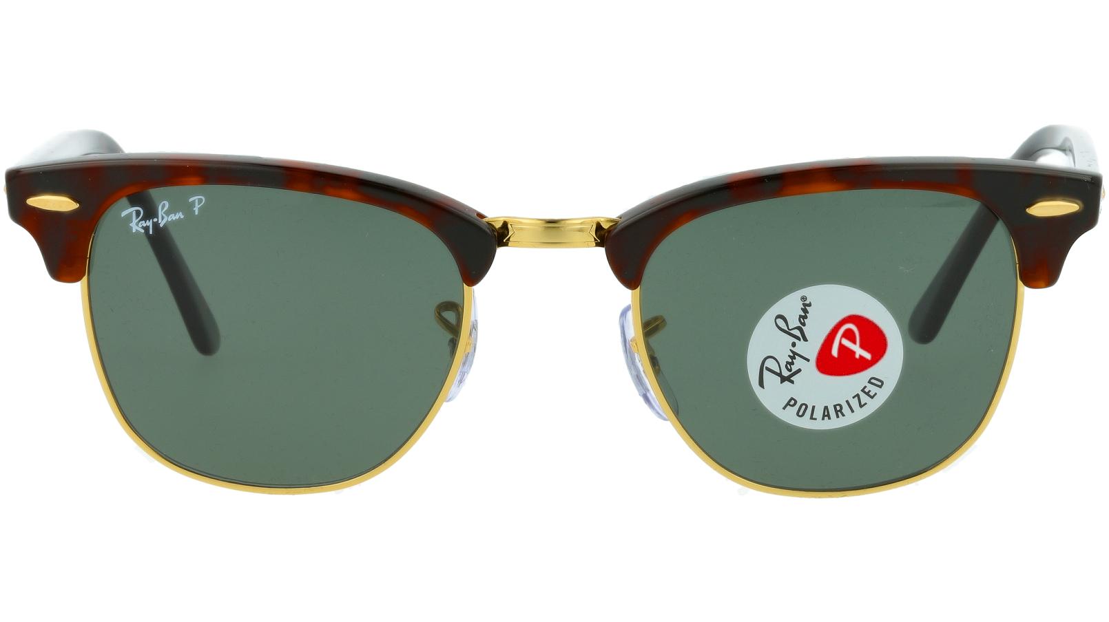 Ray-Ban RB3016 W0365 49 BLACK Sunglasses