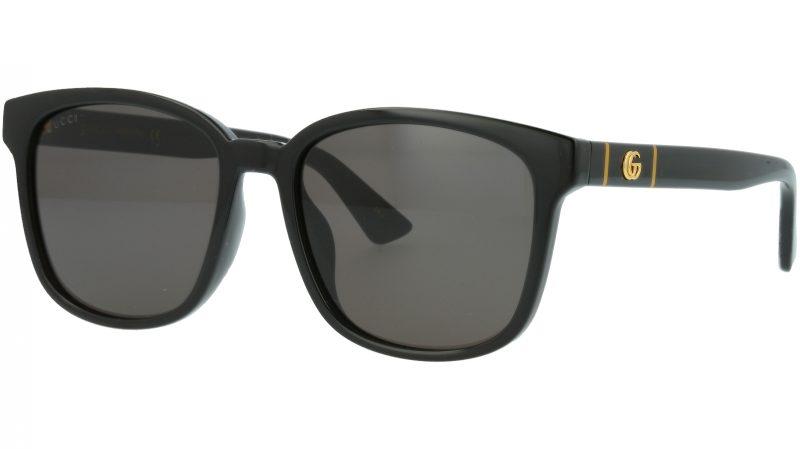 Gucci GG0637SK 001 56 BLACK Sunglasses