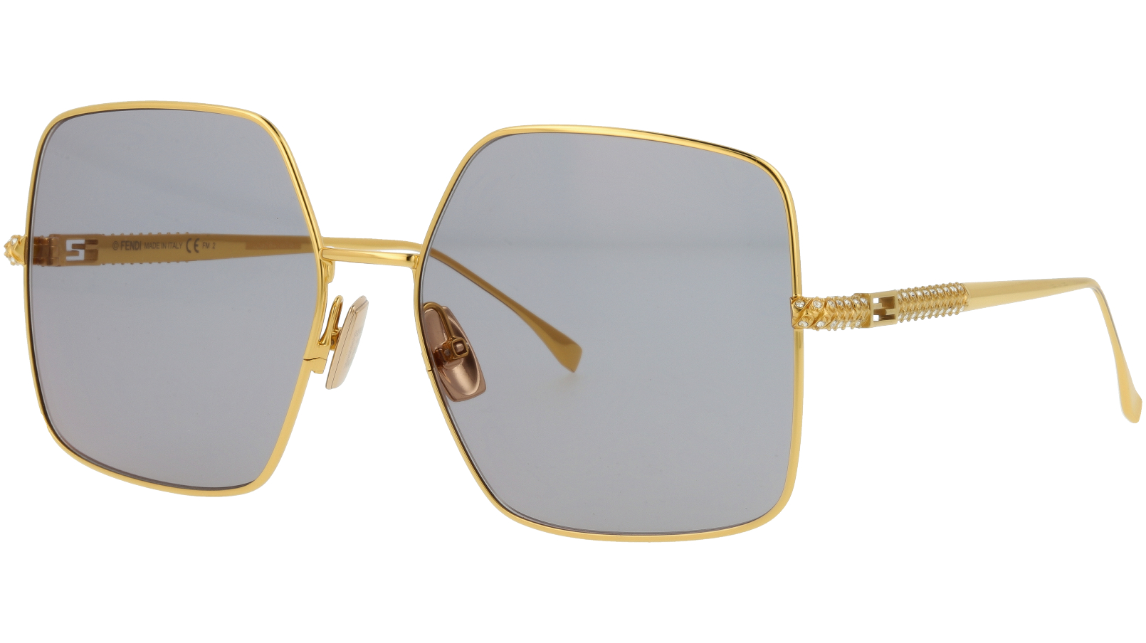 Fendi FF0439/S 001JO 61 YELLOW Sunglasses