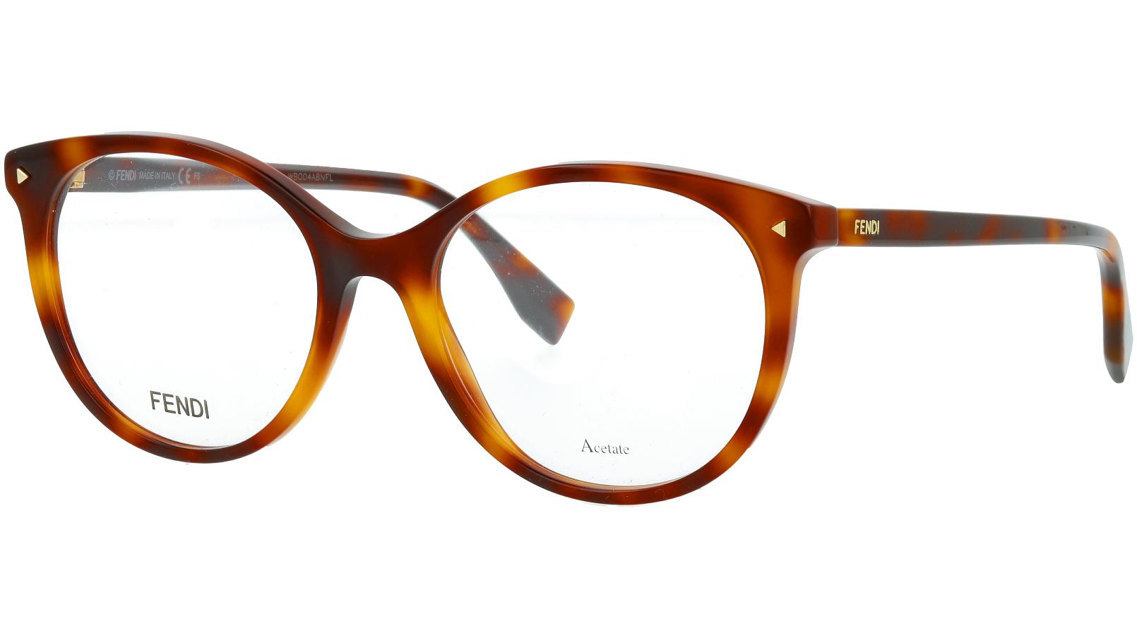 Fendi FF0416 086 52 DARK Glasses