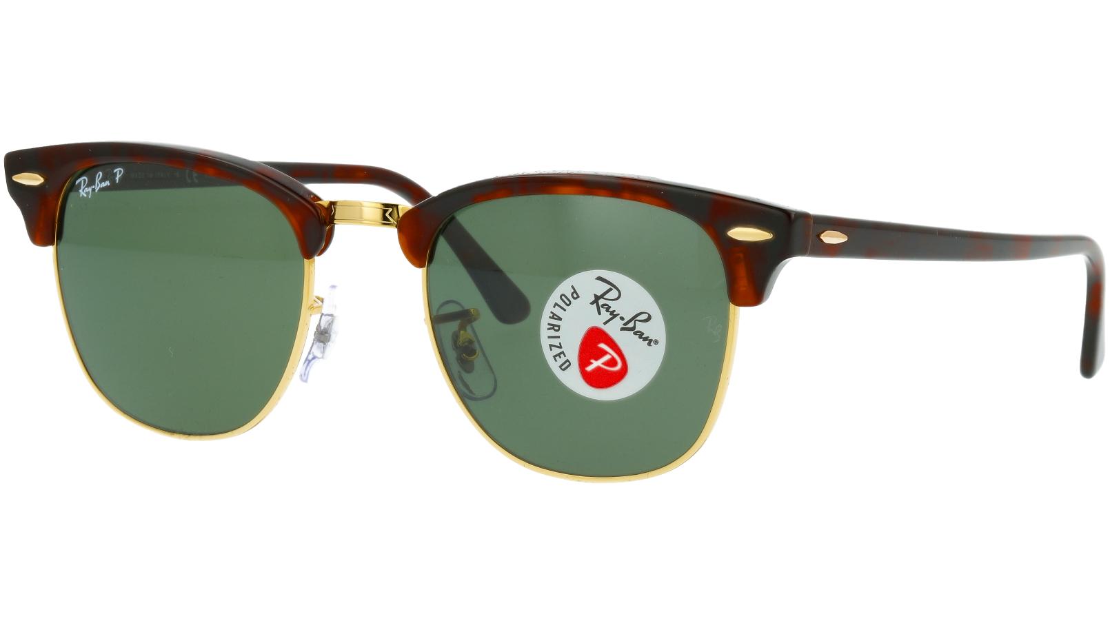 Ray-Ban RB3016 W0365 51 BLACK Sunglasses