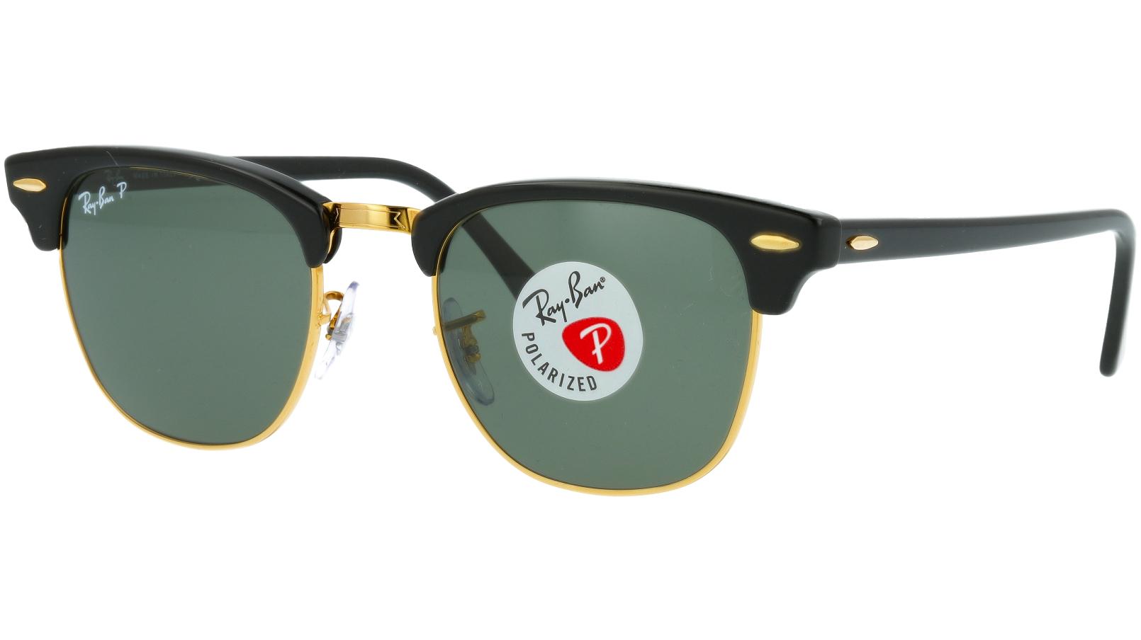 Ray-Ban RB3016 901/58 49 BLACK Polarised Sunglasses