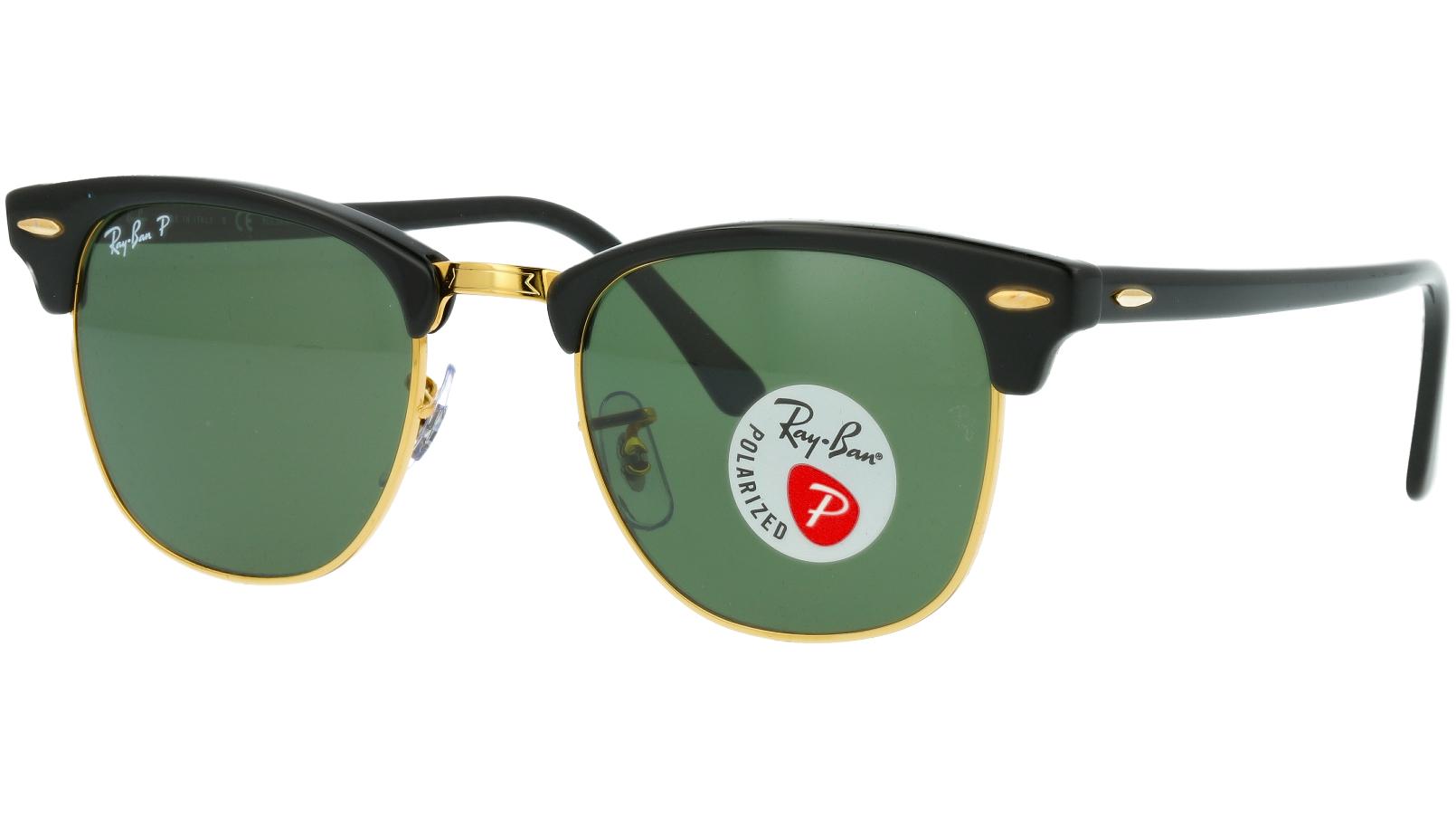 Ray-Ban RB3016 901/58 51 BLACK Polarised Sunglasses