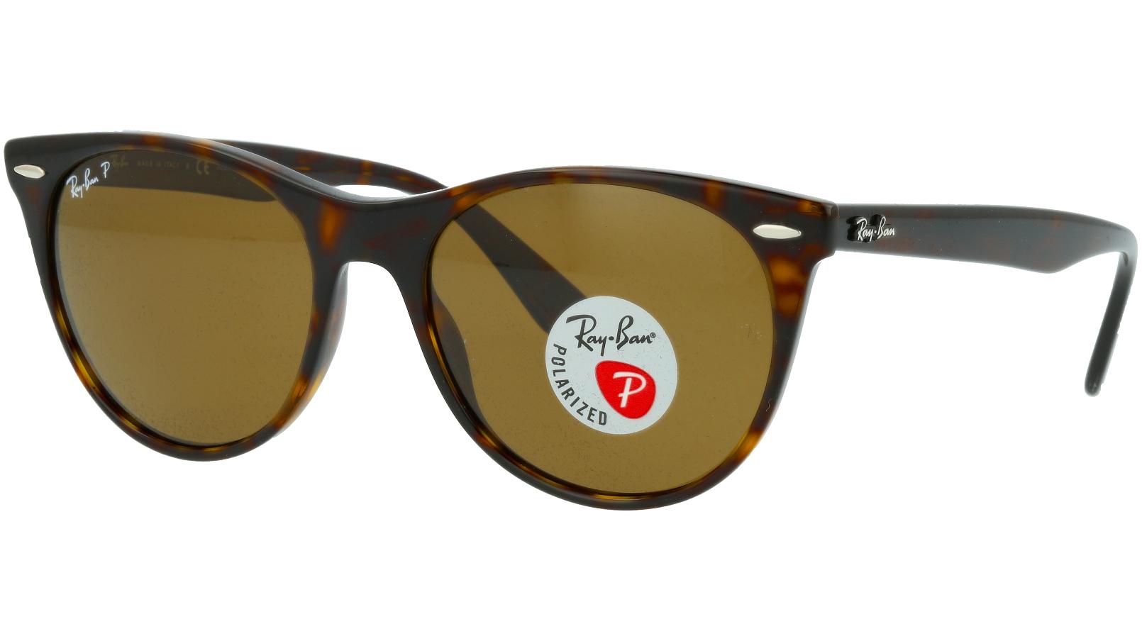 Ray-Ban RB2185 902/57 55 TORTOISE Polarised Sunglasses