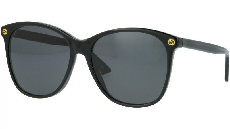 Gucci GG0024S 001 58 BLACK Sunglasses