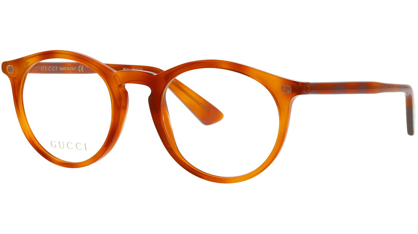Gucci GG0121O 003 49 AVANA Glasses