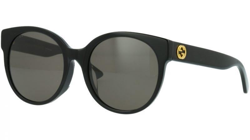 Gucci GG0035SA 001 56 BLACK Sunglasses