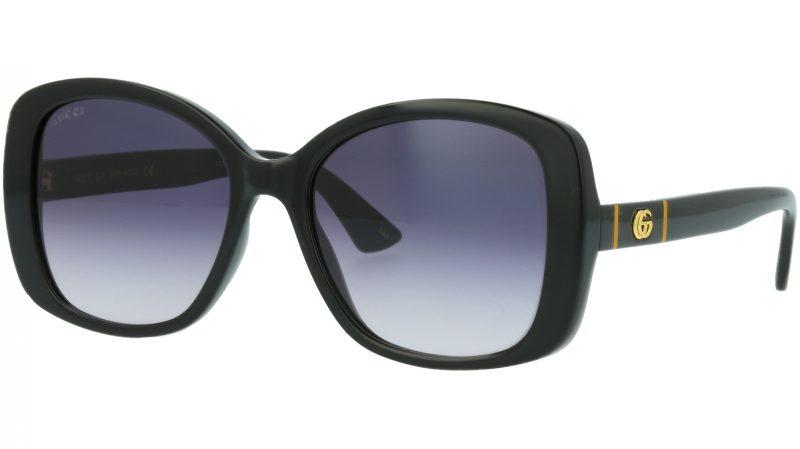 Gucci GG0762S 001 56 BLACK Sunglasses