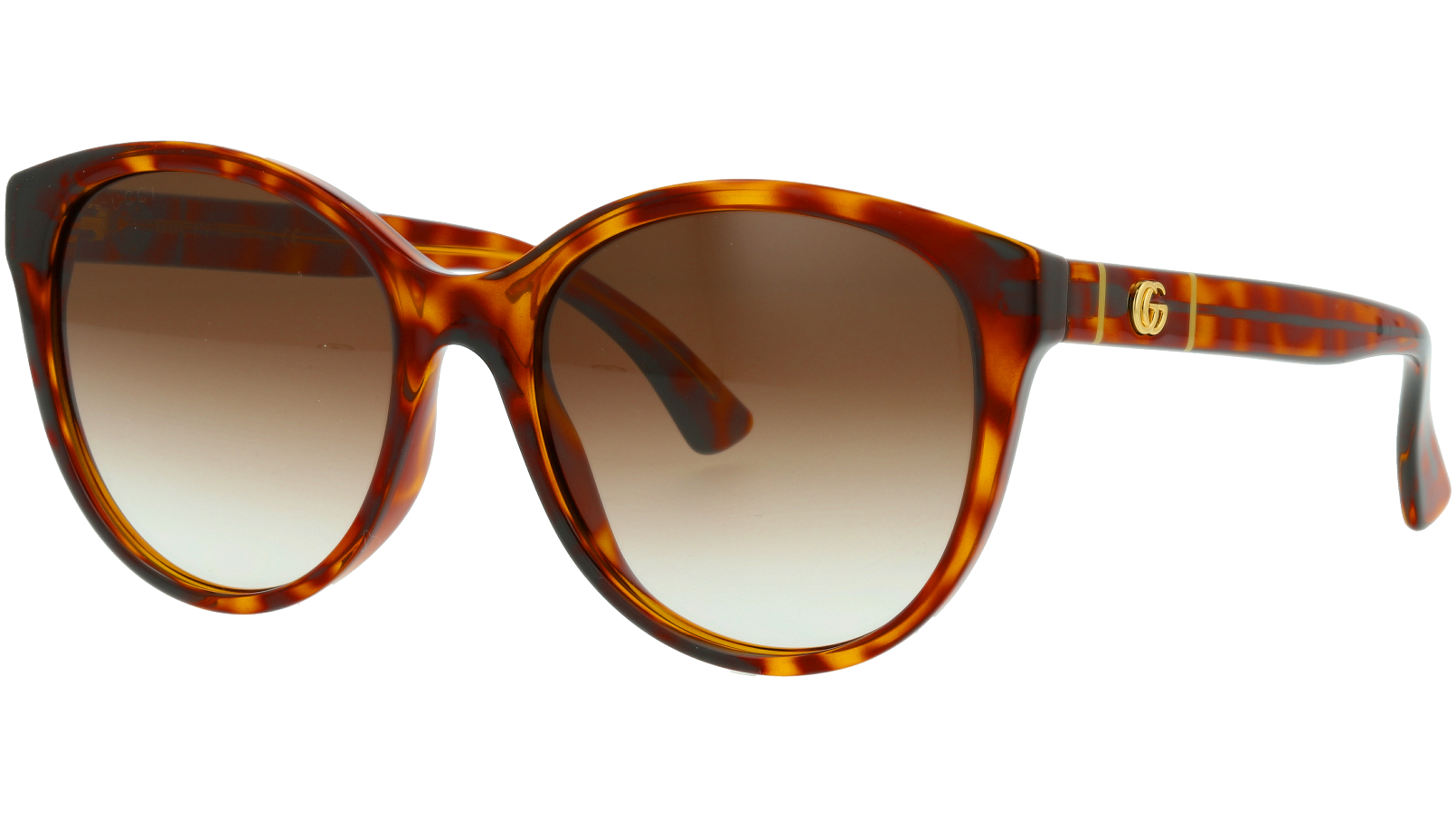 Gucci GG0631S 002 56 Havana Round Sunglasses