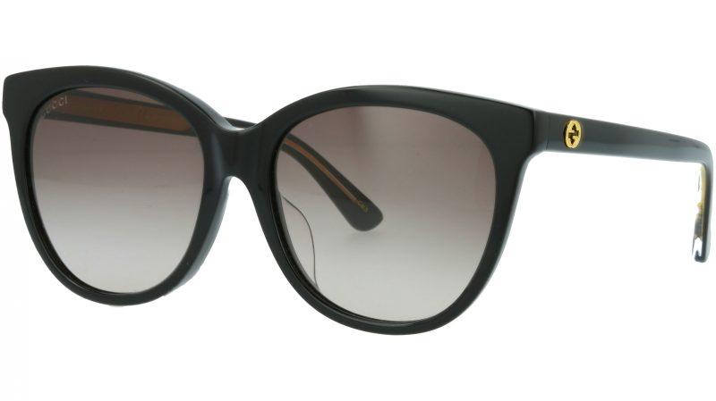 Gucci GG0081SK 001 56 BLACK Sunglasses
