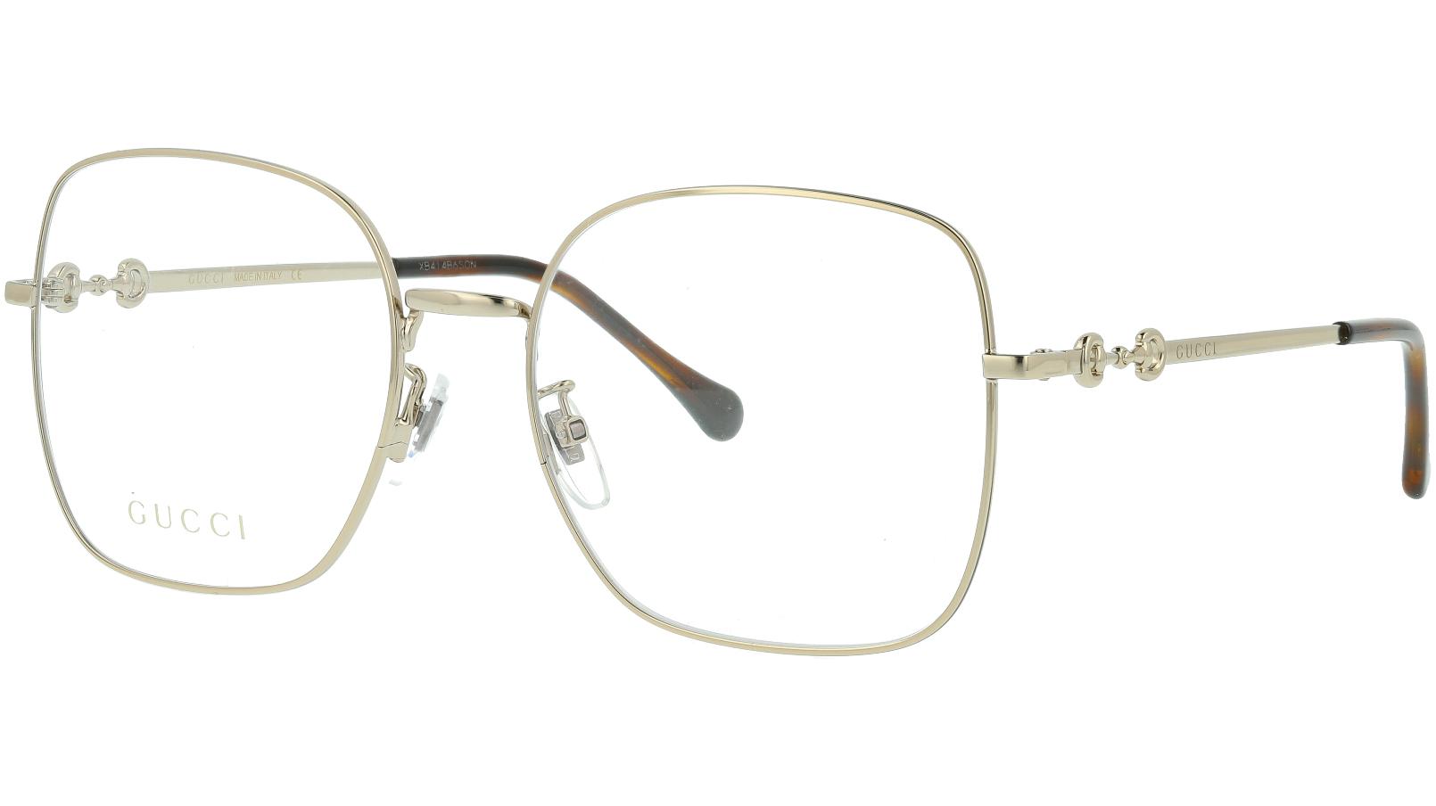 Gucci GG0883OA 003 55 GOLD Glasses