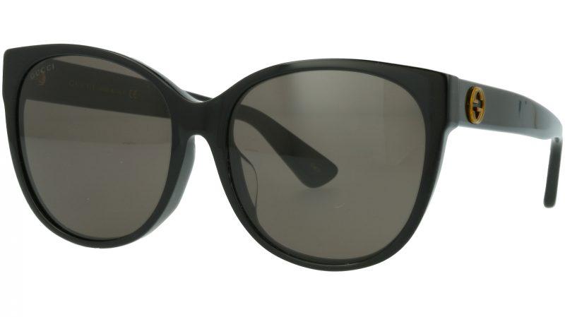 Gucci GG0097SA 001 58 BLACK Sunglasses