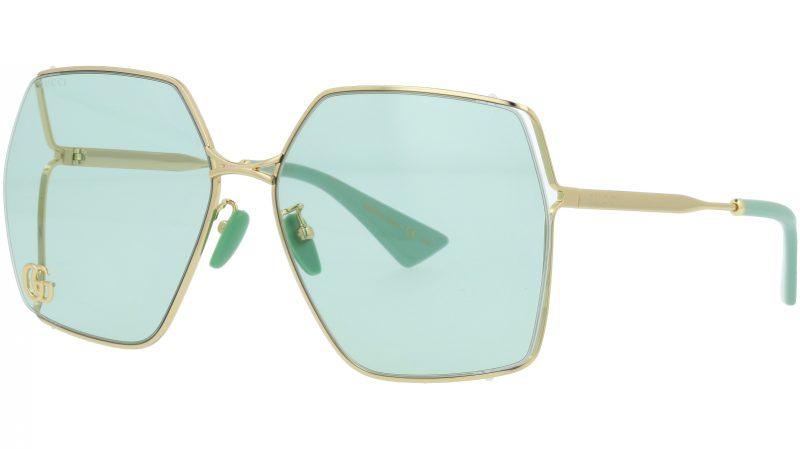 Gucci GG0817S 003 65 GOLD Sunglasses