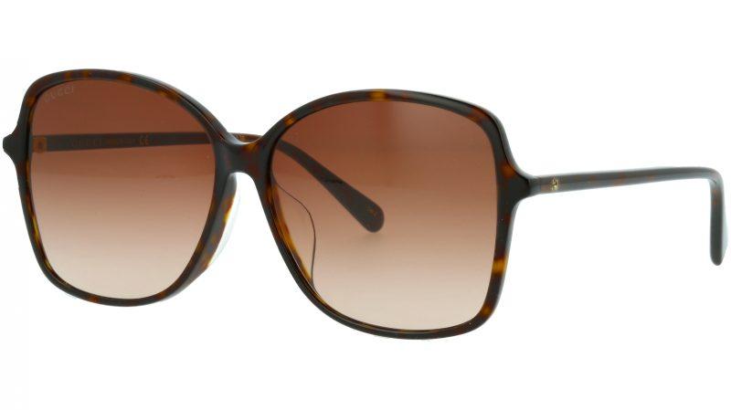 Gucci GG0546SK 002 60 HAVANA Sunglasses