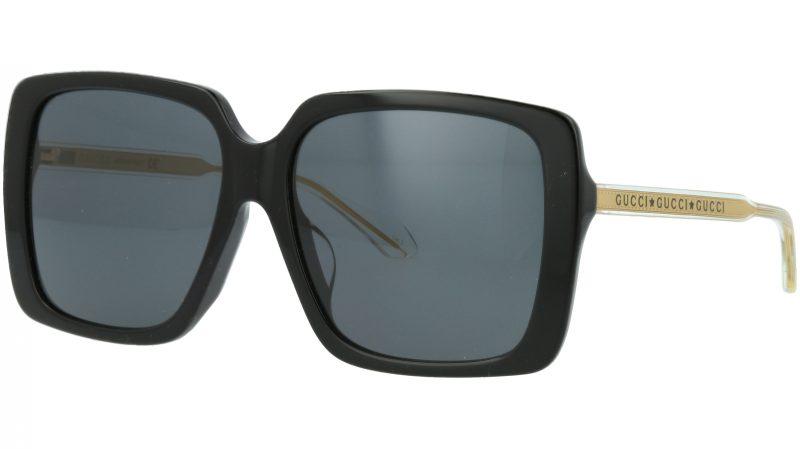 Gucci GG0567SA 001 56 BLACK Sunglasses