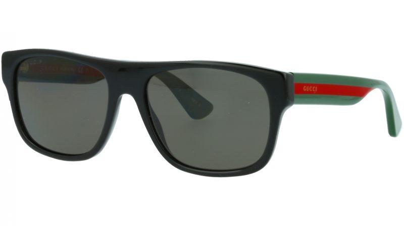 Gucci GG0341S 002 56 BLACK Sunglasses