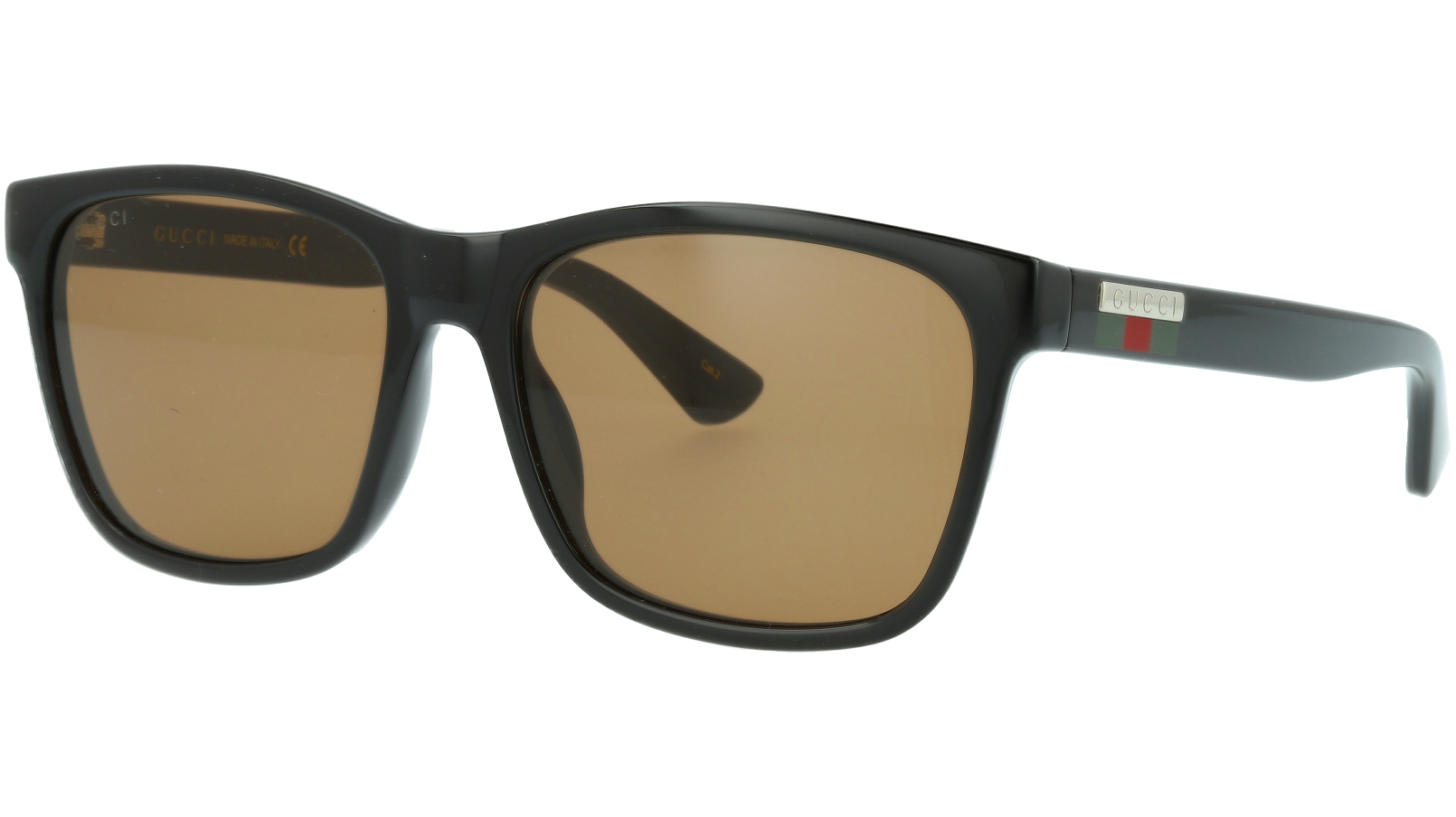 Gucci GG0746S 002 57 Black Square Sunglasses