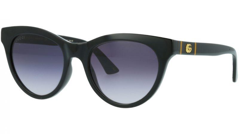Gucci GG0763S 001 53 BLACK Sunglasses