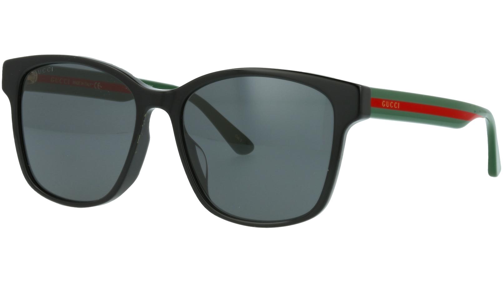 Gucci GG0417SK 001 56 BLACK Sunglasses