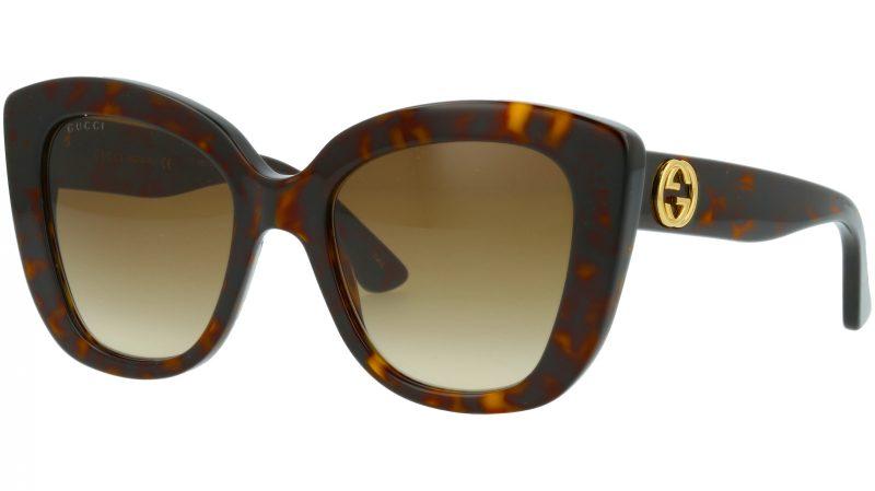 Gucci GG0327S 002 52 AVANA Sunglasses