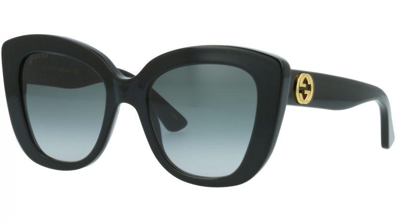 Gucci GG0327S 001 52 BLACK  Sunglasses
