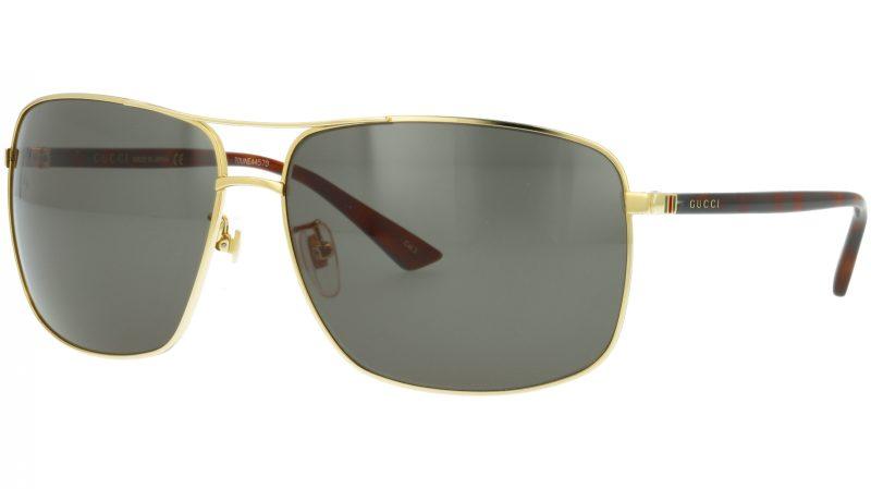Gucci GG0065SK 004 66 GOLD Sunglasses