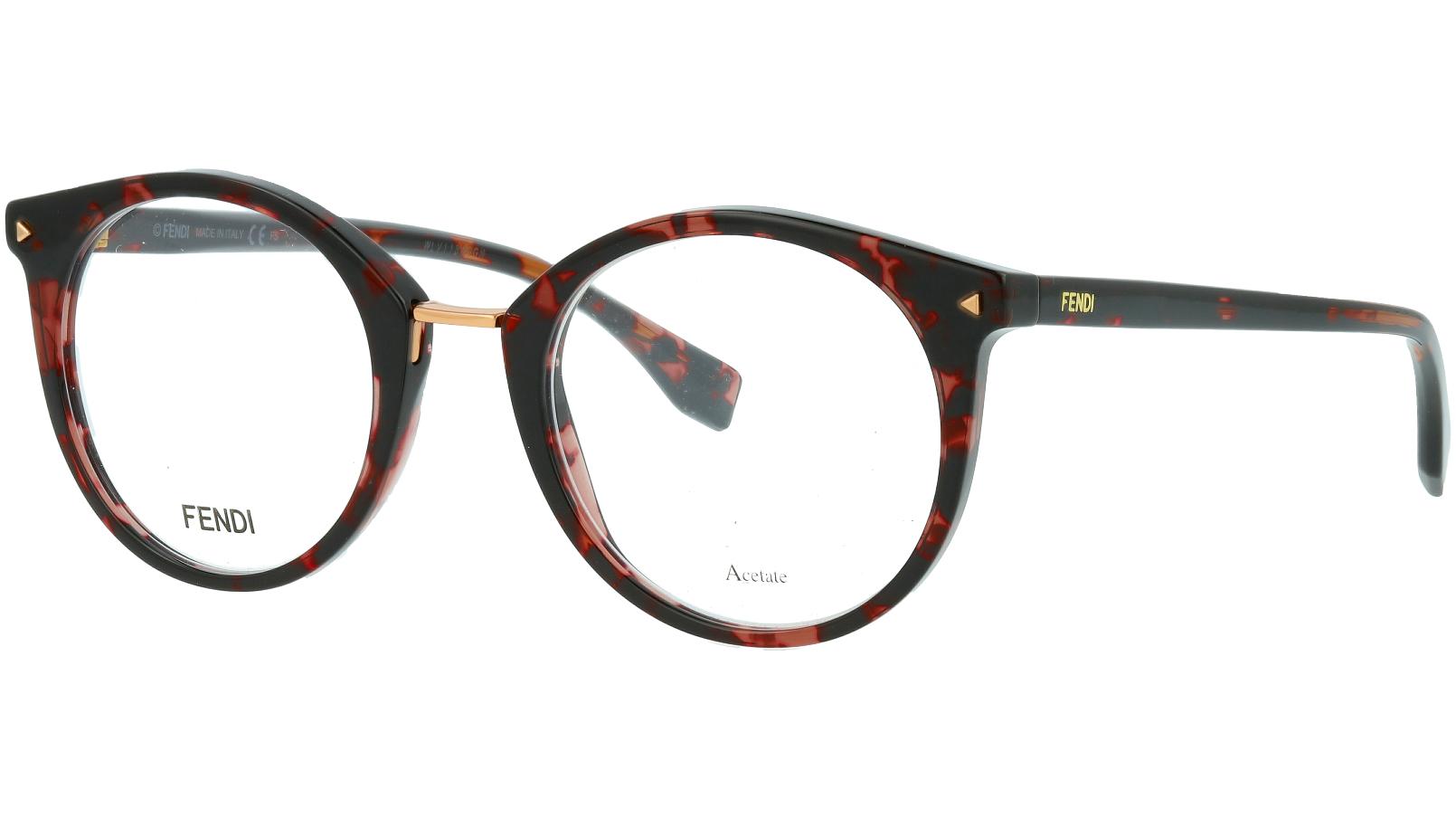 Fendi FF0350 HT8 48 PINK Glasses