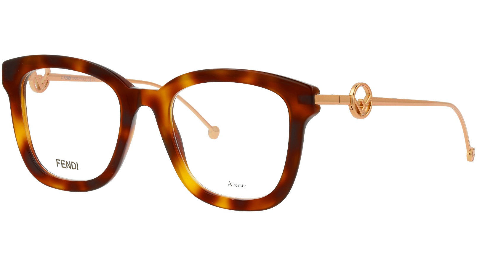 Fendi FF0419 2IK 50 HAVANA Glasses