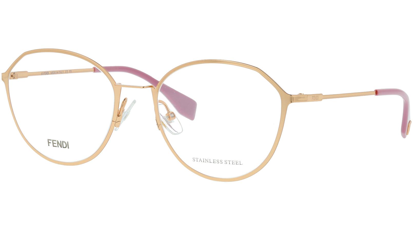 Fendi FF0340/F DDB 53 GOLD Glasses