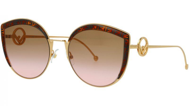 Fendi FF0290/S VH8M2 58 HAVANA Sunglasses