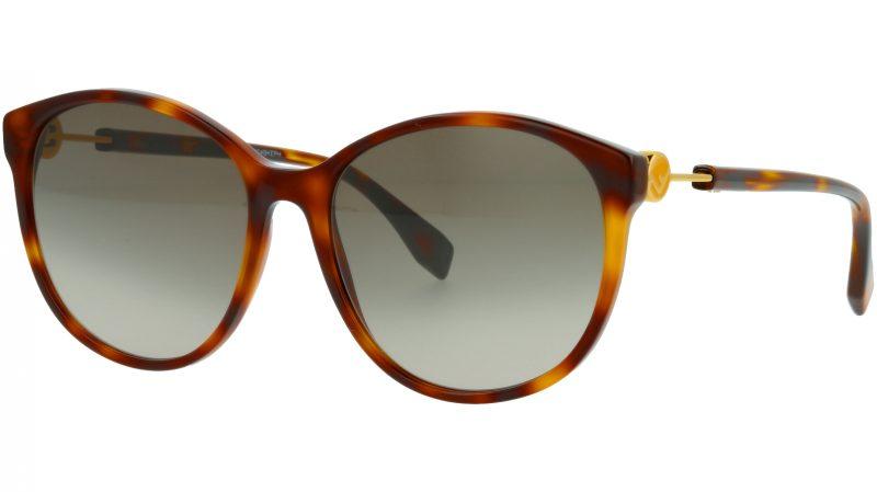 Fendi FF0412/S 086HA 58 HAVANA Sunglasses