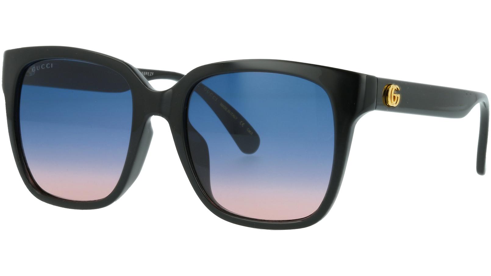 Gucci GG0715SA 002 53 Black Sunglasses