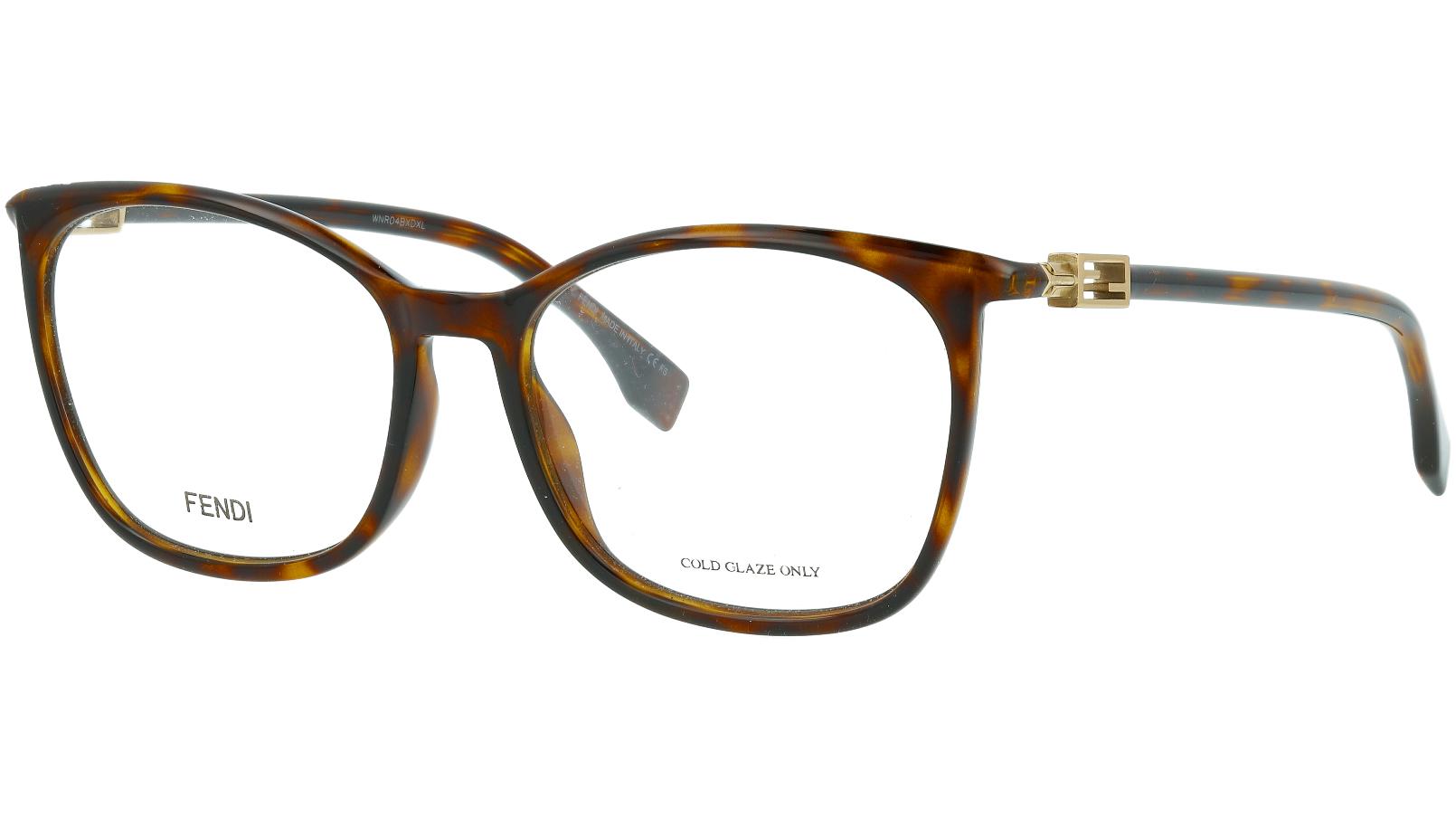 Fendi FF0461/G 086 56 HAVANA Glasses