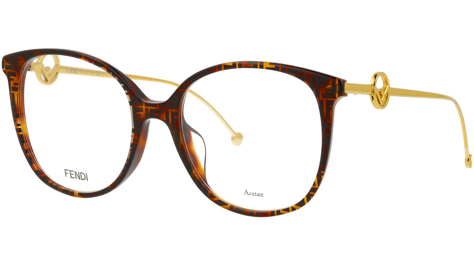 Fendi FF0425/F 086 54 HAVANA Glasses