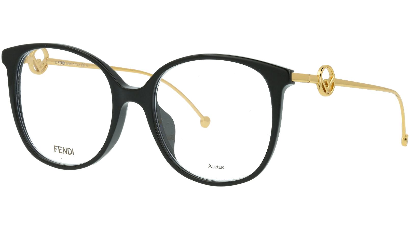 Fendi FF0425/F 807 54 BLACK Glasses