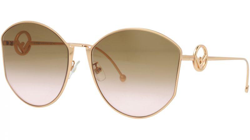 Fendi FF0335/F/S DDBM2 63 GOLD Sunglasses
