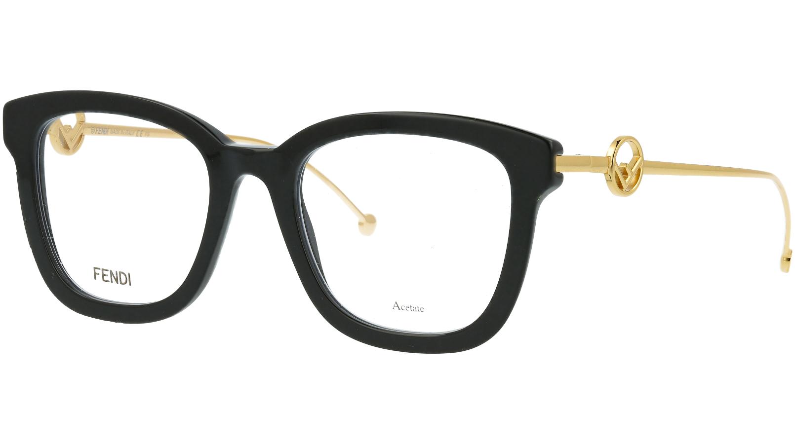 Fendi FF0419 807 50 BLACK Glasses