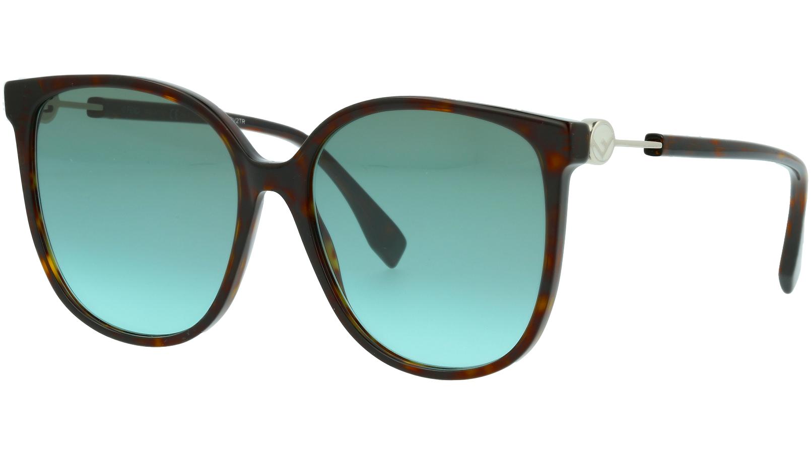 Fendi FF0374/S 8079O 58 BLACK Sunglasses