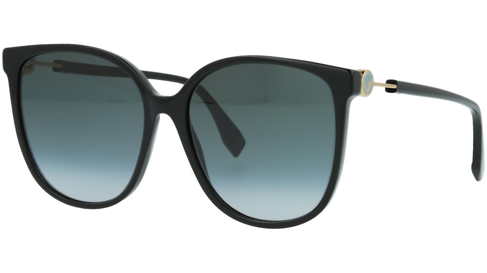 Fendi FF0374/S 086EQ 58 HAVANA Sunglasses