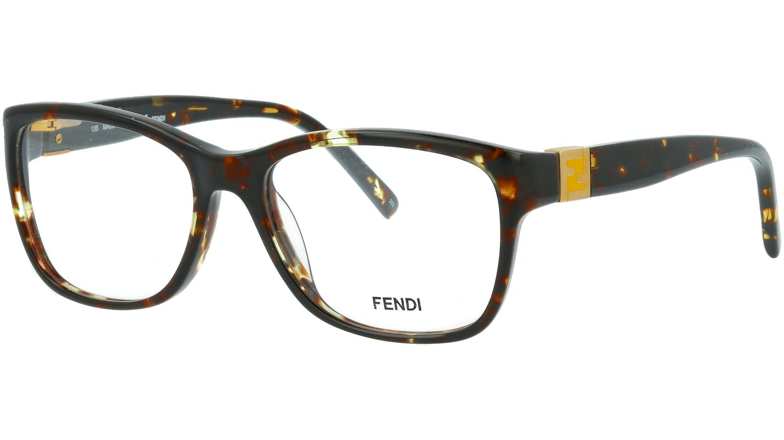 Fendi F1011 214 51 HAVANA Glasses