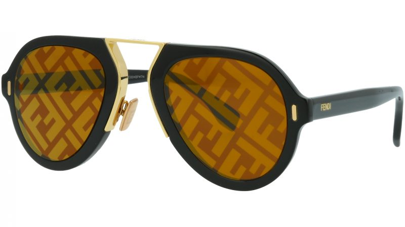 Fendi FFM0104/S 807EB 53 BLACK Sunglasses