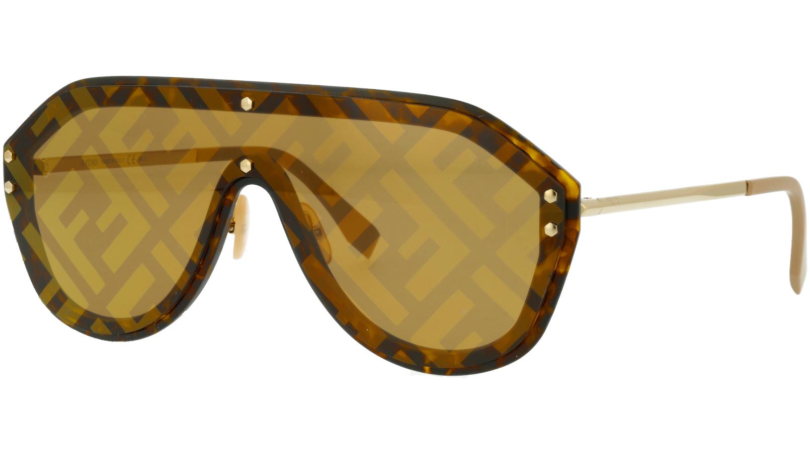 Fendi FFM0039/G/S XLT7Y 99 HAVANA  Sunglasses