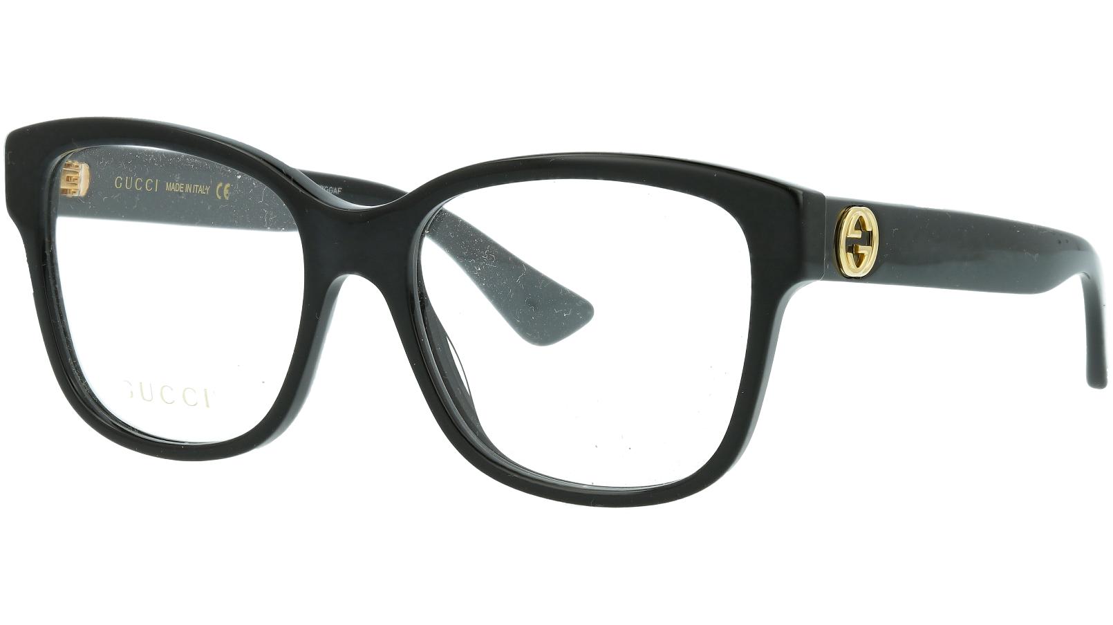 Gucci GG0038O 001 54 BLACK Glasses