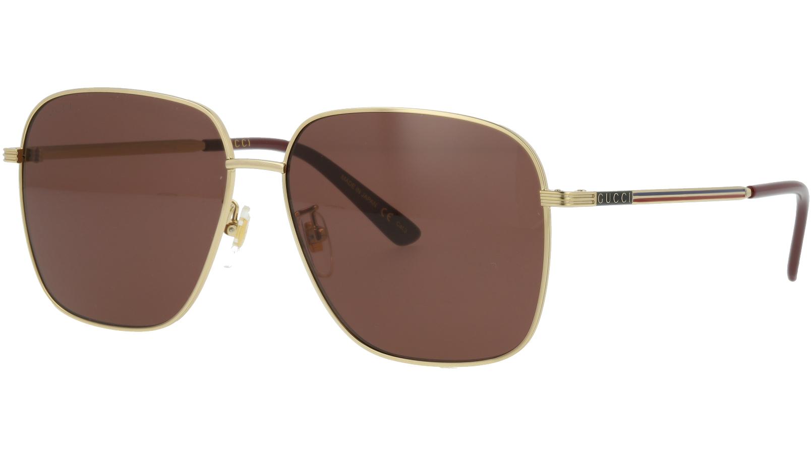 Gucci GG0987SA 002 60 GOLD Sunglasses
