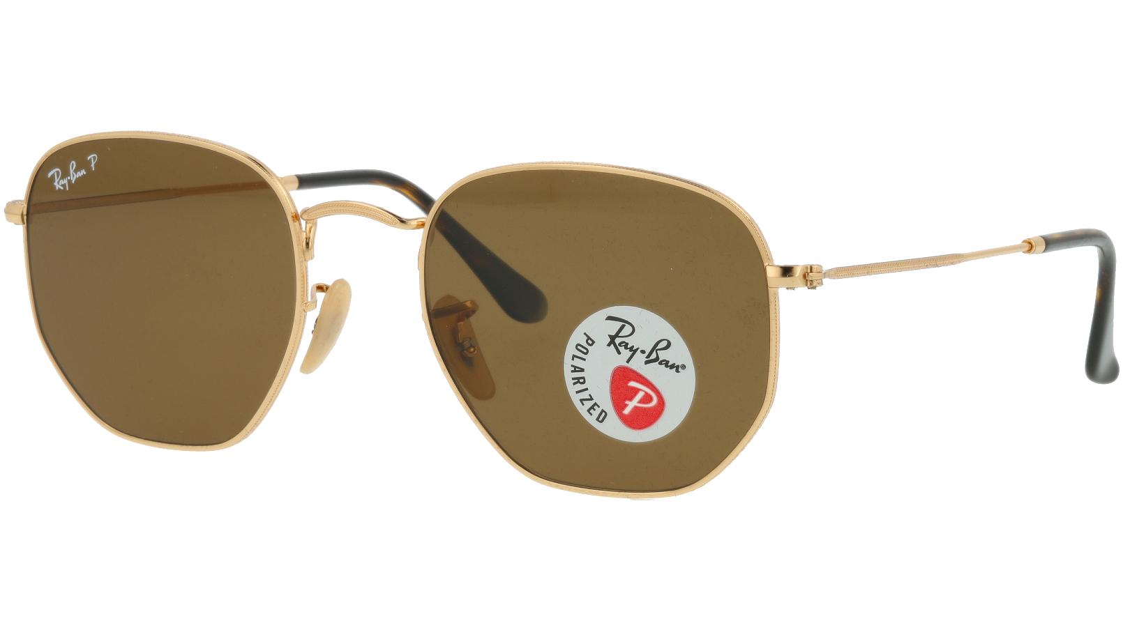 Ray-Ban RB3548N 001/57 54 Arista Polarized  Sunglasses