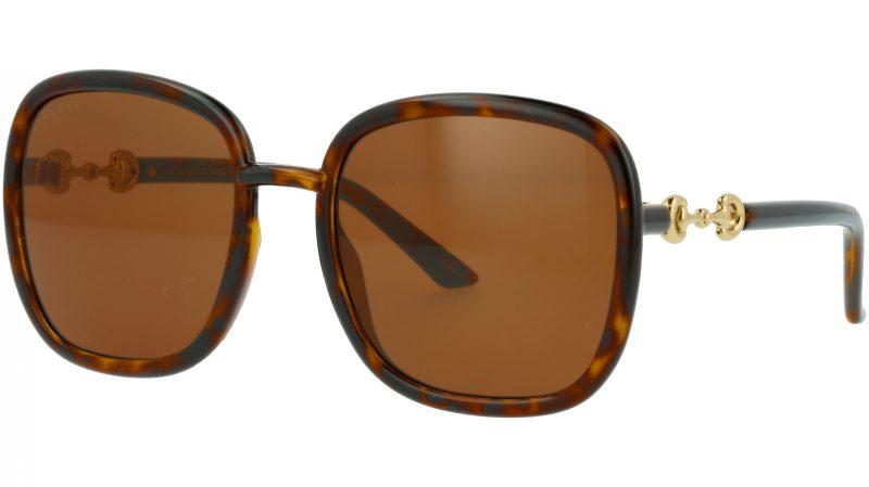 Gucci GG0893S 002 57 HAVANA Sunglasses