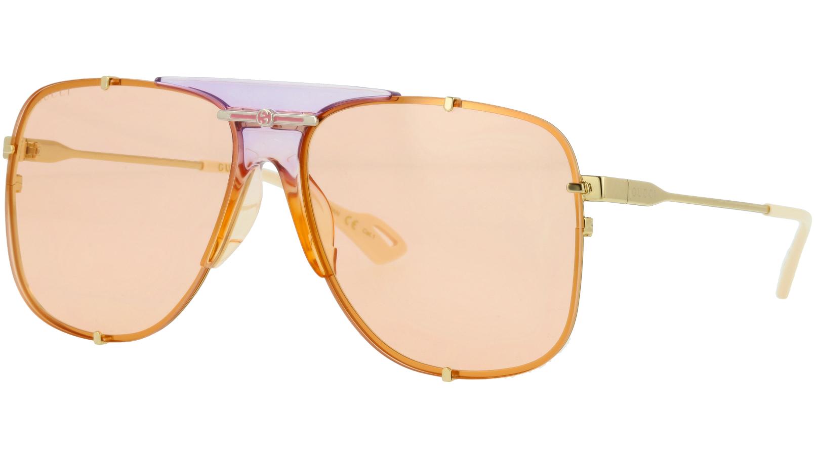 Gucci GG0739SA 005 63 GOLD Sunglasses
